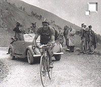 Bartali destacado no Tour 1948
