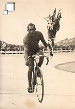 Bartali com o maillot jaune no Tour 1948